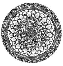 Mandala highly detailed  ethnic vector