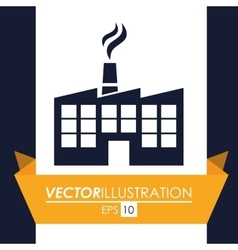 Factory or industry design vector
