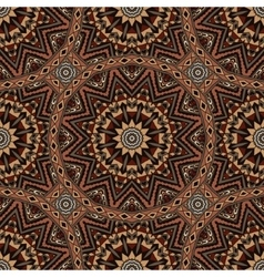 Abstract mosaic tiles vintage ethnic seamless vector