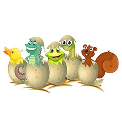Hatching vector image vector image