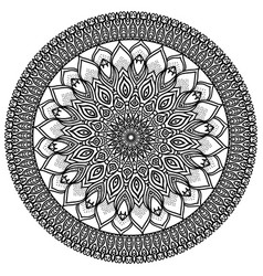 Mandala highly detailed ethnic vector