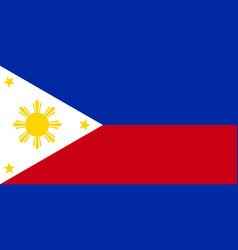 Philippine flag vector