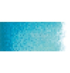Pixel blue Background for card or poster - vector image