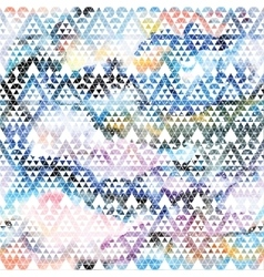 Tribal galaxy seamless pattern vector