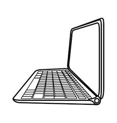 Laptop icon gadget design graphic vector