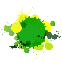 Background from blots for text vector image vector image