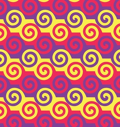 Colorful spiral pattern EPS10 vector image vector image