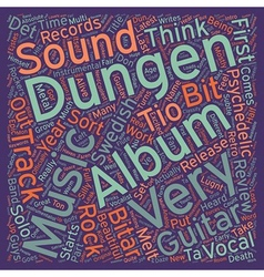 Dungen s tio bitar album review text background vector