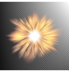 Light effect stars bursts EPS 10 vector image