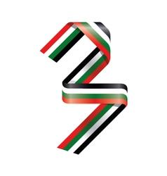 Ribbonnumber 3 vector