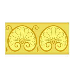Classical floral design vector