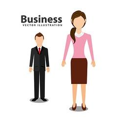 Business executive design vector