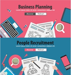 Design Concepts for business solution and vector image vector image
