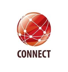 Logo connect vector
