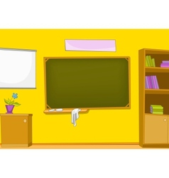 Classroom cartoon vector