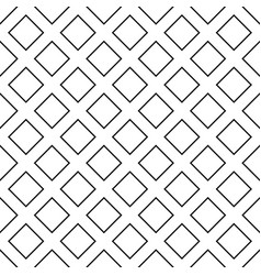 Seamless abstract monochrome diagonal square vector