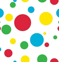 bubble pattern vector image