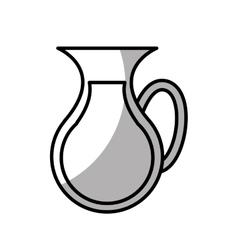Juice fruit breakfast icon vector