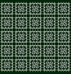 Linoleum seamless pattern geometric mosaic vector