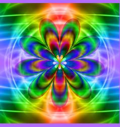 Translucent flower vector