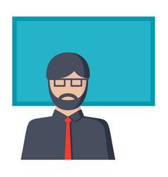 pedagogy icon vector image
