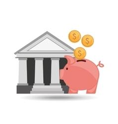 savings money design vector image