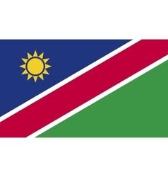 Namibia flag image vector