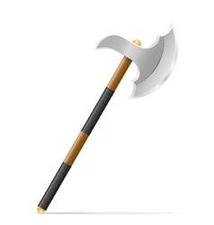 battle axe 02 vector image