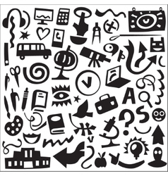 Education - icons set vector