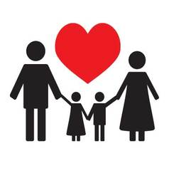 Happy family love vector image vector image
