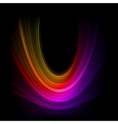 Smooth technology light lines background EPS 8 vector image