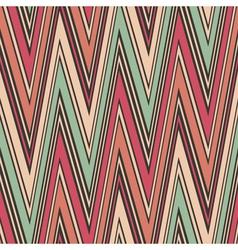 Striped textured zig zag seamless pattern vector