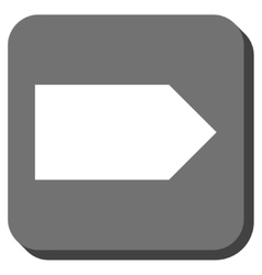 Direction right rounded square icon vector