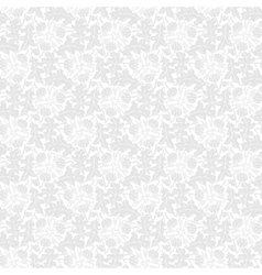 Seamless pattern with leaf and flower vector image