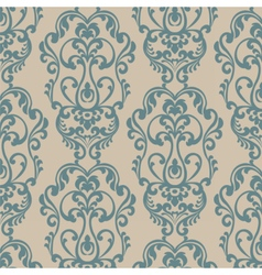 Damask elegant royal ornament pattern vector