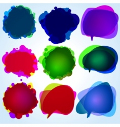 speech bubbles original illustration vector image