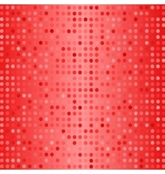 Dots on red background halftone texture vector