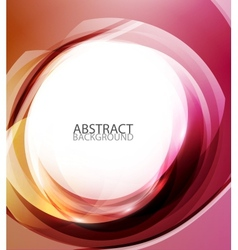 Abstract red energy background vector image