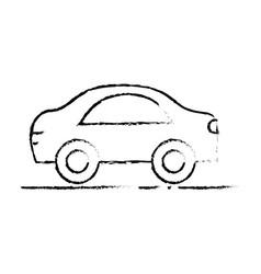 figure car transportation tool decoration design vector image vector image