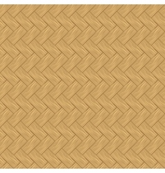 Seamless texture of light wood parquet vector image