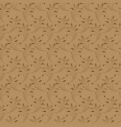 seamless texture of the branches on the vector image vector image