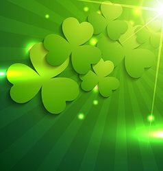 st patricks day design vector image vector image