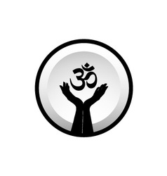 Symbol of hinduism vector