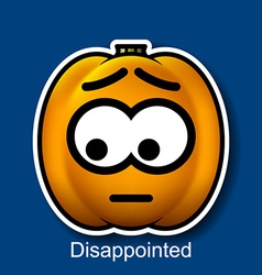 Disappointed vector