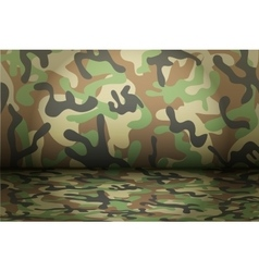 Woodland camouflage background vector