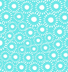 Graphic abstract tiny floral seamless pattern vector