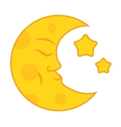 Moon month vector
