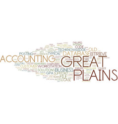 Great plains dos support notes for consultant vector