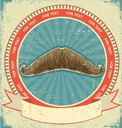 Mustaches symbol vector