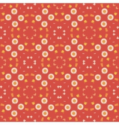 Abstract pattern of coffee paraphernalia vector image vector image